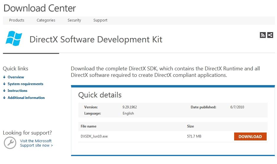 """DirectX SDKインストール時に""""S1023エラー""""が出る時の対処法"""